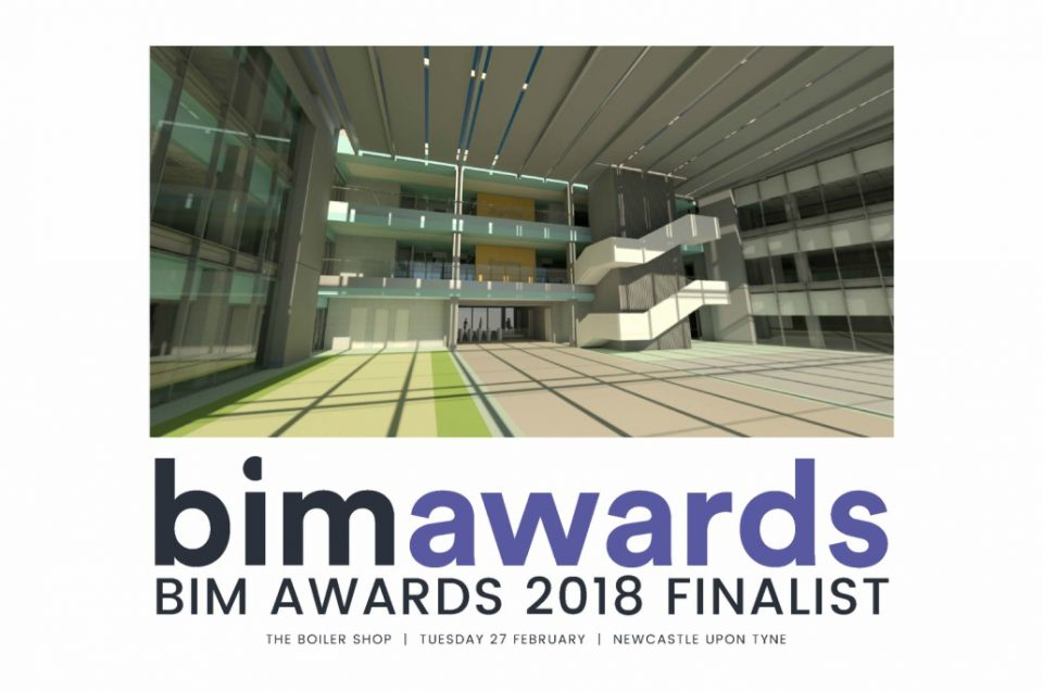 MLM shortlisted for BIM Awards 2018