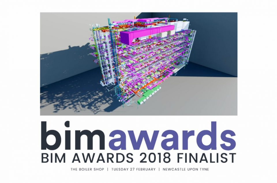 SES (Engineering Services) Ltd shortlisted for BIM Awards 2018