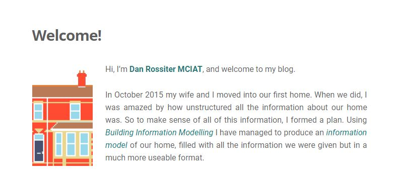 Dan Rossiter shortlisted for Smartest Blog BIM Award