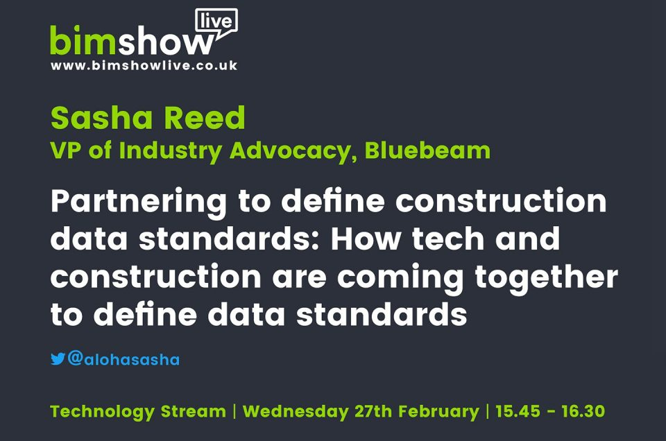 How tech and construction are coming together to define data standards