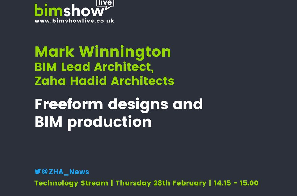ZHA's Mark Winnington says connectivity is the future of BIM
